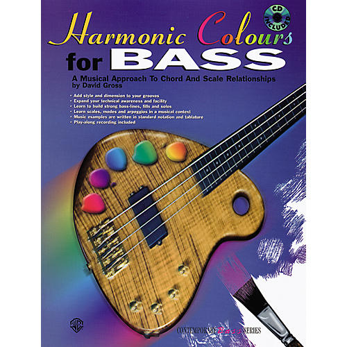 Alfred Harmonic Colours for Bass (Book/CD)