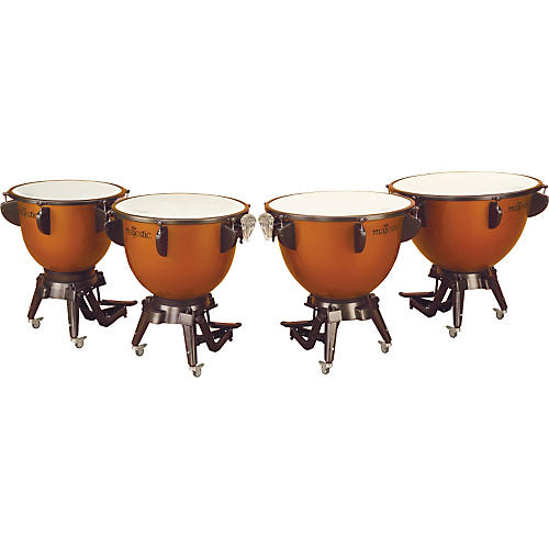 Majestic Harmonic Series Timpani Set Of 4 Concert Drums