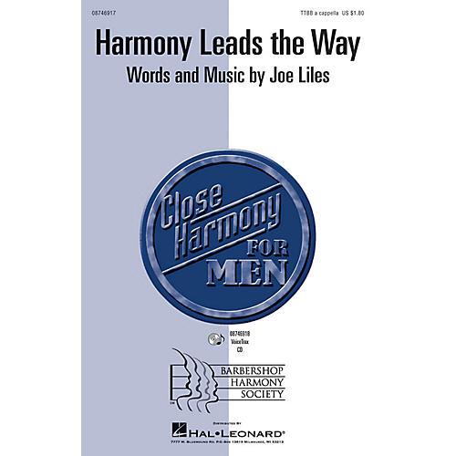 Hal Leonard Harmony Leads the Way VoiceTrax CD Composed by Joe Liles