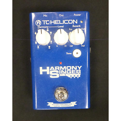 TC Helicon Harmony Singer Baltic Blue Effect Processor