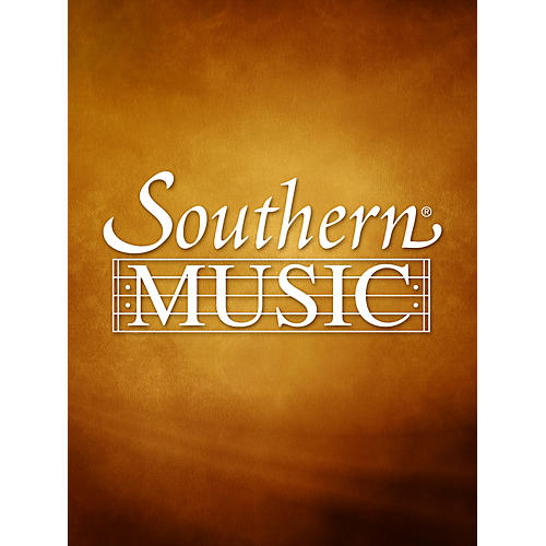 Southern Harobed (Unaccompanied Flute) Southern Music Series Composed by Samuel Adler