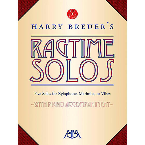 Meredith Music Harry Breuer's Ragtime Solos Book/CD