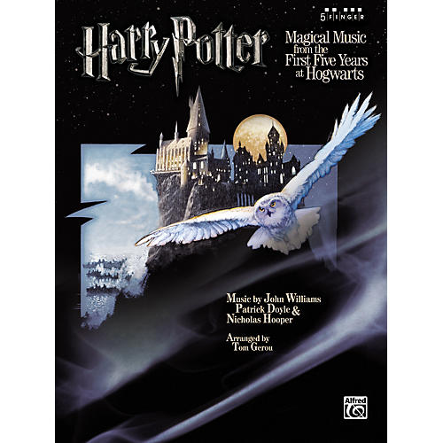 Alfred Harry Potter Magical Music 5 Finger Piano