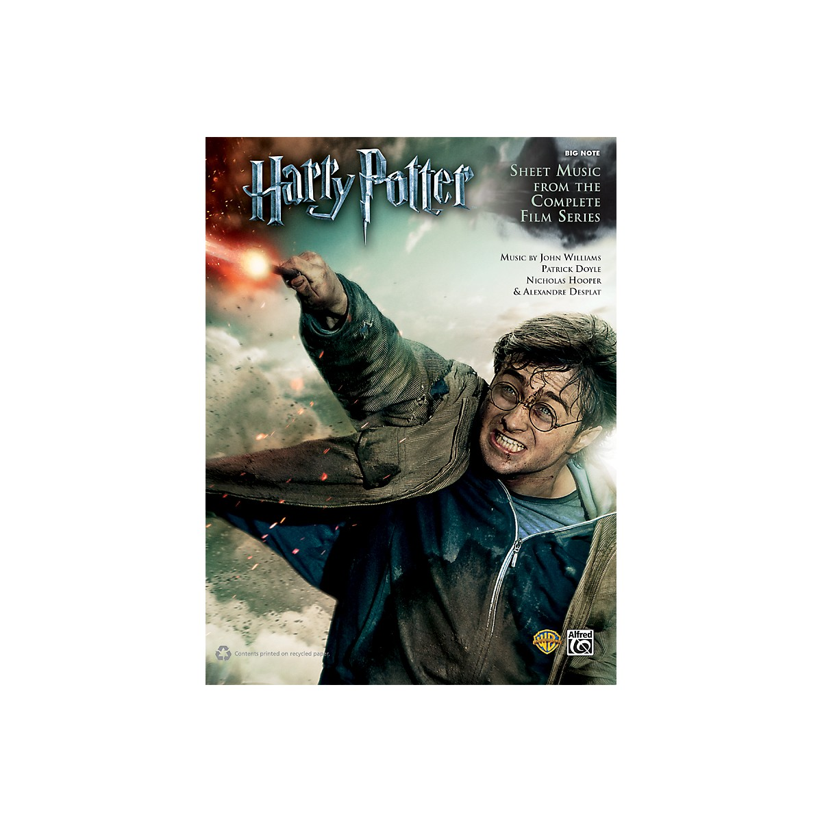 Alfred Harry Potter Sheet Music From The Complete Film Series Big Note Piano Book