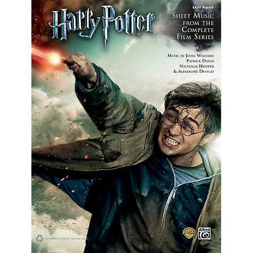 Alfred Harry Potter Sheet Music From The Complete Film Series Easy Piano Book