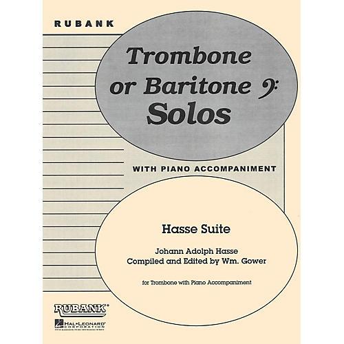 Rubank Publications Hasse Suite (Trombone Solo with Piano - Grade 4) Rubank Solo/Ensemble Sheet Series