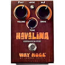 Way Huge Electronics Havalina Germanium Fuzz Guitar Effects Pedal