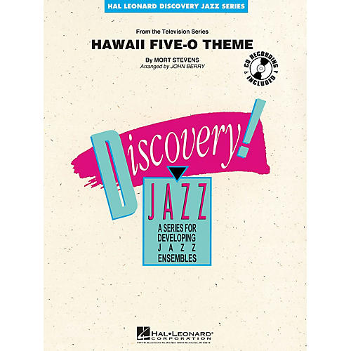 Hal Leonard Hawaii Five-O Theme Jazz Band Level 1-2 Arranged by John Berry