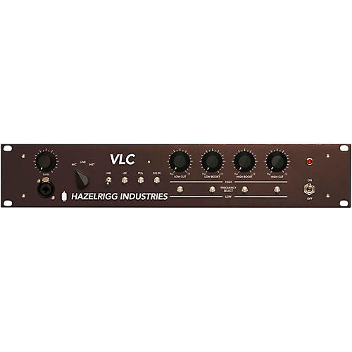 D.W. Fearn Hazelrigg Industries VLC Single Channel Mic Pre EQ and DI