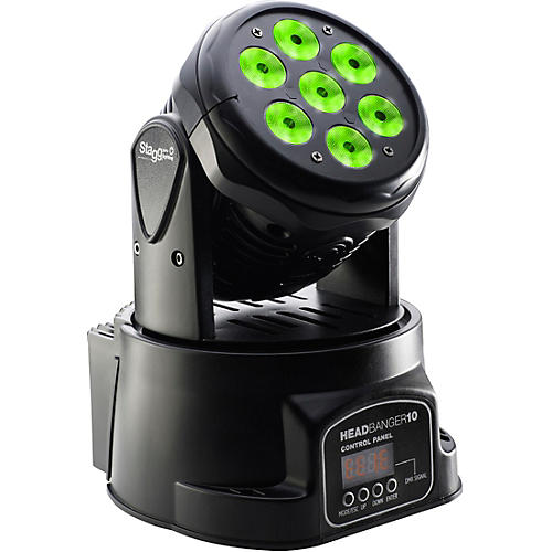 Stagg HeadBanger 10 Moving-Head RGBW LED Wash Light