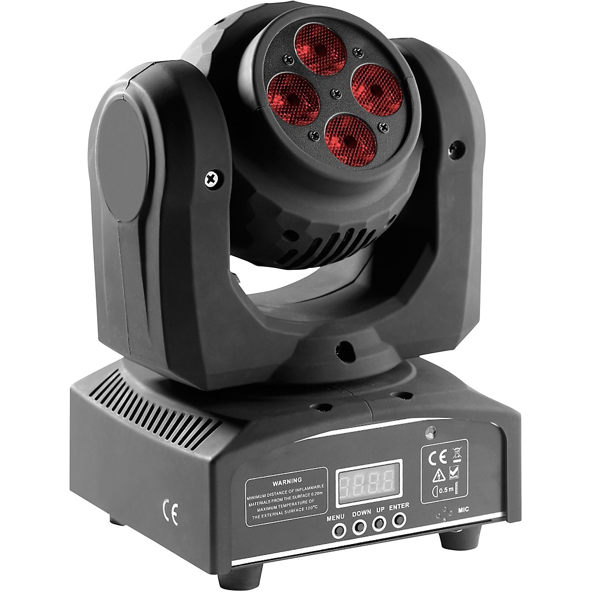 Stagg HeadBanger Spin Double-Sided RGBW LED Moving-Head Light