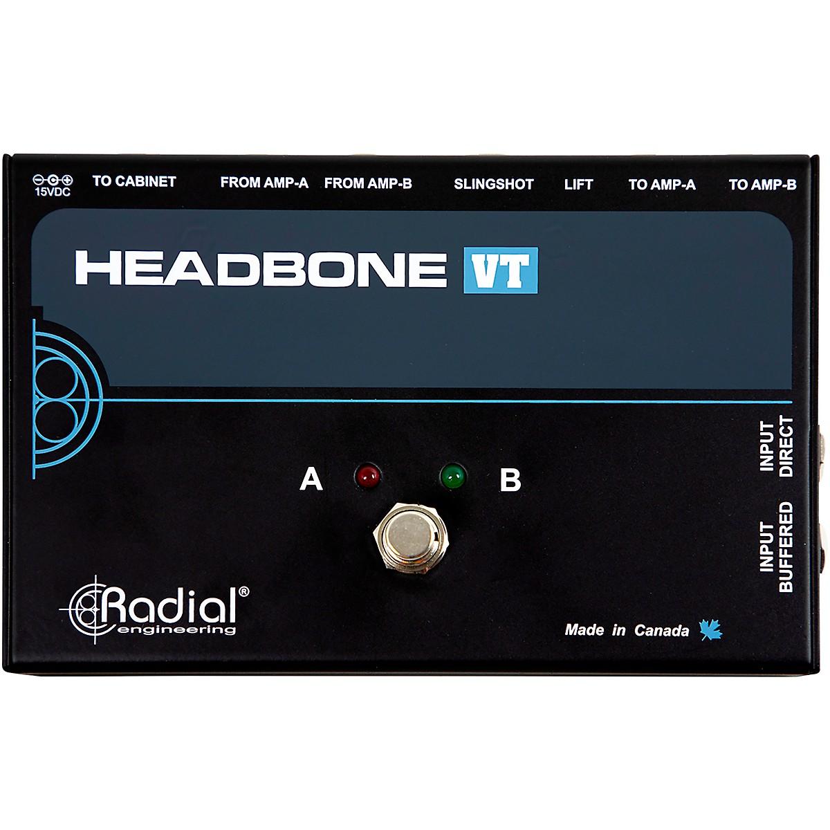 Radial Engineering Headbone VT Amp Head Switcher for Tube Amps