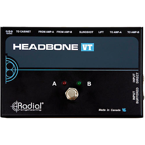 Radial Engineering Headbone VT Amp Head Switcher for Tube Amps