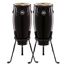 Meinl Headliner Series 10 and 11 Inch Wood Conga Set with Basket Stands