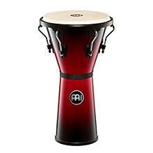 Headliner Series Wood Djembe Wine Red Burst 12.50 in.