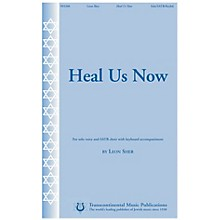 Transcontinental Music Heal Us Now SATB composed by Leon Sher