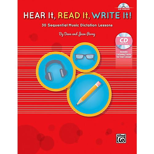Alfred Hear It, Read It, Write It! Book & CD
