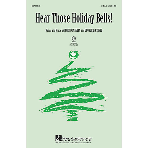 Hal Leonard Hear Those Holiday Bells! 2-Part composed by Mary Donnelly