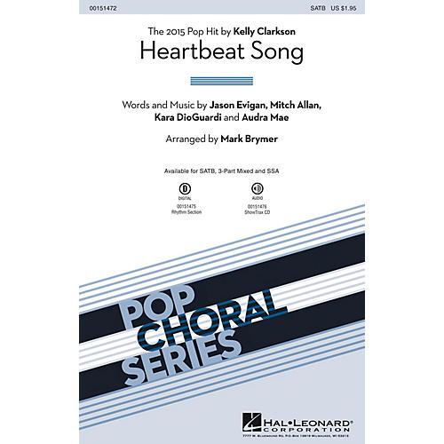 Hal Leonard Heartbeat Song ShowTrax CD by Kelly Clarkson Arranged by Mark Brymer