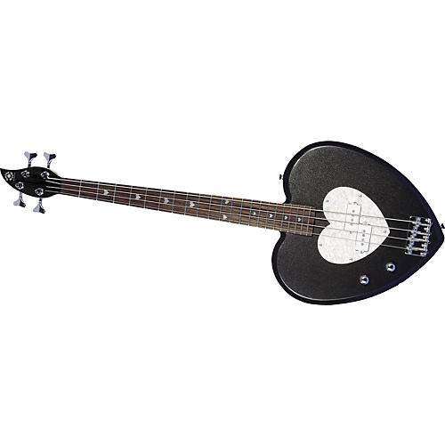 Daisy Rock Heartbreaker Left-Handed Bass Guitar