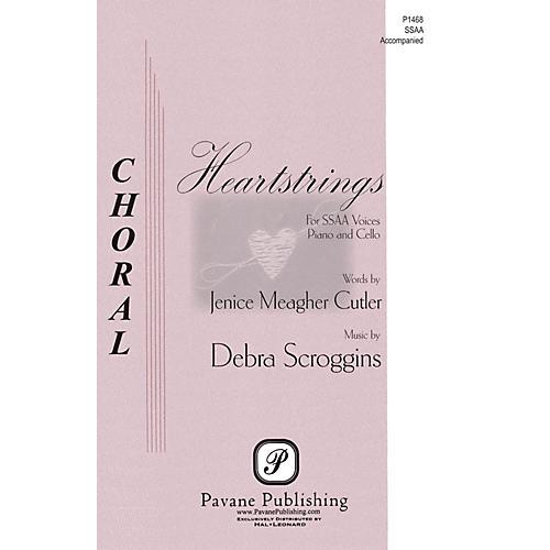 Pavane Heartstrings SSAA composed by Debra Scroggins