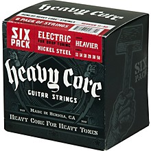 Dunlop Heavy Core Electric Guitar Strings Heavier 6-Pack