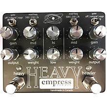 Empress Effects Heavy Dual-Channel Distortion Effect Pedal