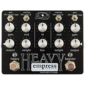 empress effects heavy dual channel distortion guitar effects pedal guitar center. Black Bedroom Furniture Sets. Home Design Ideas
