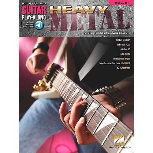 Hal Leonard Heavy Metal Guitar Play-Along Series Volume 54 (Book/CD)