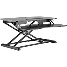 BK Media Height Adjustable Work Station Level 1 Black