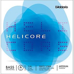 Daddario Helicore Orchestral Series Double Bass A String by D'Addario