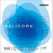 D'Addario Helicore Orchestral Series Double Bass C (Extended E String