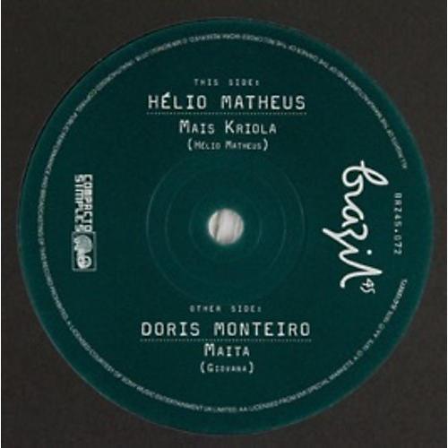 Alliance Helio Matheus & Doris Monteiro - Mais Kriola / Maita