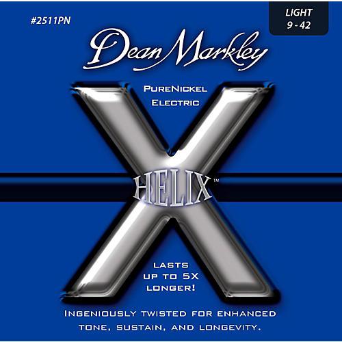 Dean Markley Helix Pure Nickel Light Electric Guitar Strings (9-42)