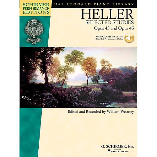 G. Schirmer Heller: Selected Studies Op 45 And Op 46 Book/CD Schirmer Performance Edition By Heller / Westney