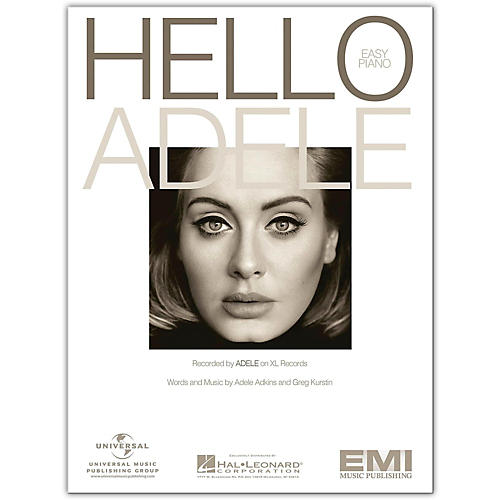 Hal Leonard Hello - Adele, Easy Piano Sheet