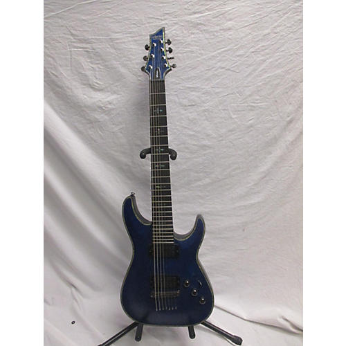 used schecter guitar research hellraiser c7 passive 7 string solid body electric guitar satin. Black Bedroom Furniture Sets. Home Design Ideas