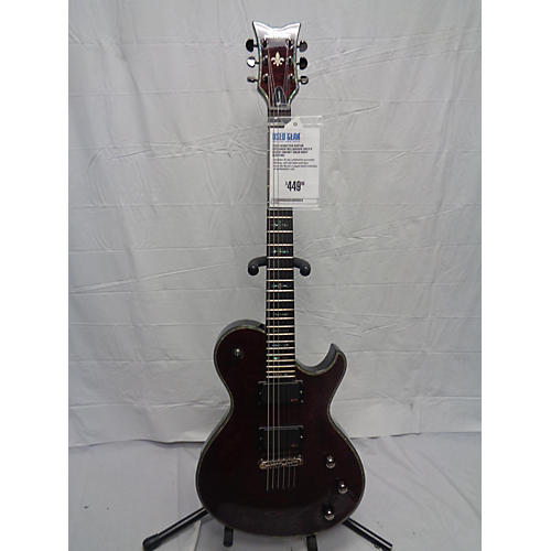 used schecter guitar research hellraiser solo 6 solid body electric guitar black cherry guitar. Black Bedroom Furniture Sets. Home Design Ideas