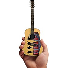 Axe Heaven Help! Fab Four Tribute Acoustic Guitar Officially Licensed Miniature Guitar Replica