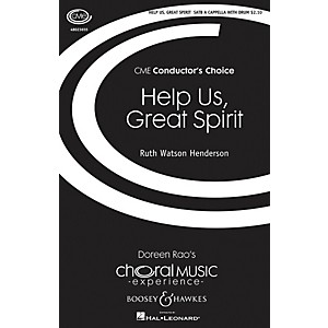 Boosey and Hawkes Help Us, Great Spirit CME Conductors Choice SATB/PERCU... by Boosey and Hawkes