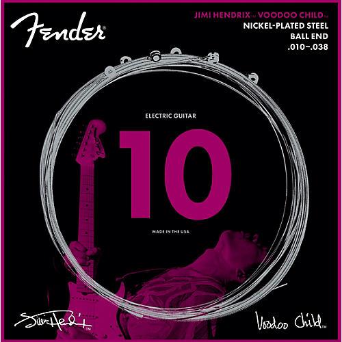 Fender Hendrix Voodoo Child Ball End NPS 10-38 Electric Guitar Strings