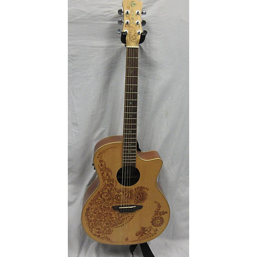 Luna Guitars Henna Oasis Acoustic Electric Guitar