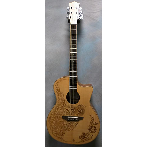Luna Guitars Henna Oasis Series II Acoustic Electric Guitar