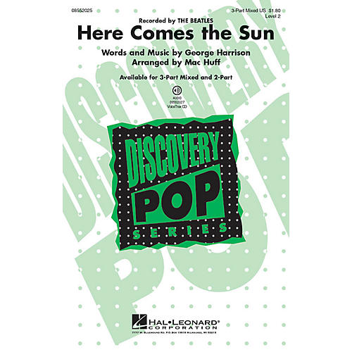 Hal Leonard Here Comes the Sun 2-Part Arranged by Mac Huff