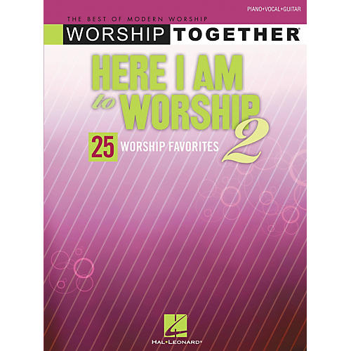 Hal Leonard Here I Am to Worship 2 Piano, Vocal, Guitar Songbook