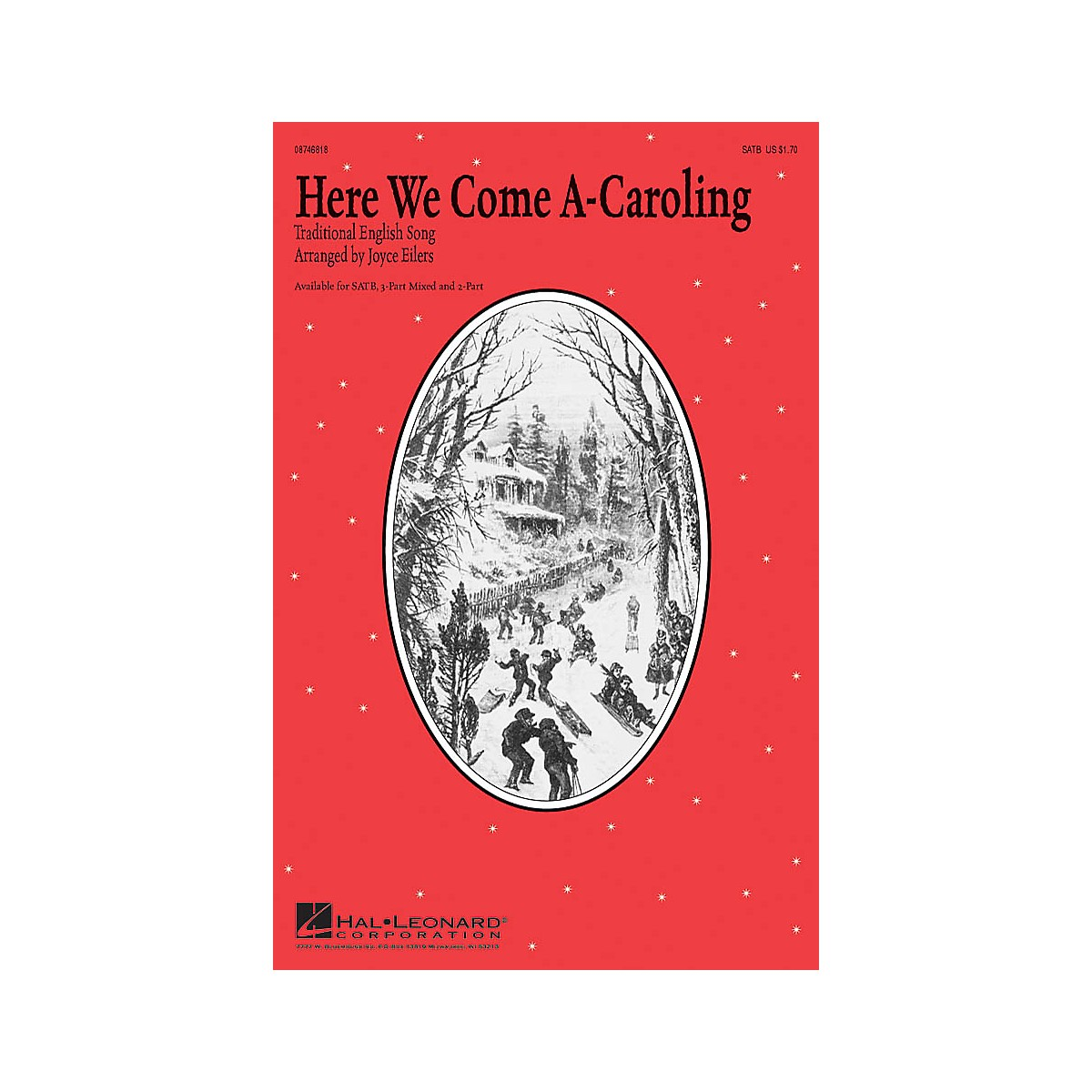 Hal Leonard Here We Come A-Caroling SATB arranged by Joyce Eilers