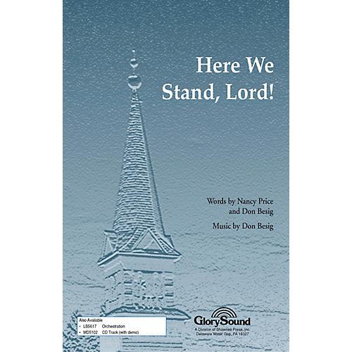 Hal Leonard Here We Stand Lord SATB