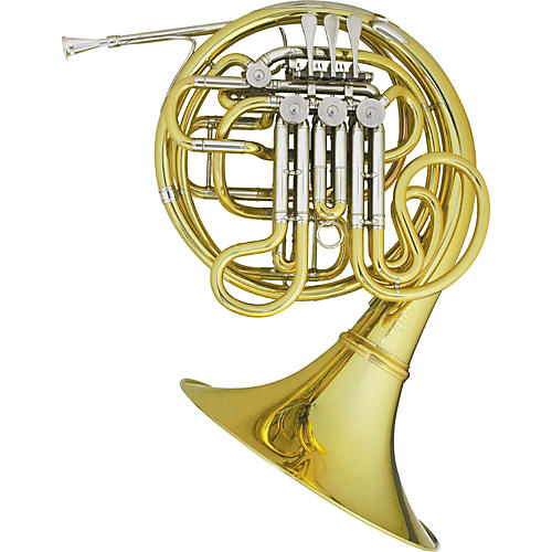 Hans Hoyer Heritage 6802 Bb/F Double French Horn String Mechanism