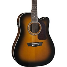 Heritage Series HD10SCE Acoustic-Electric Cutaway Dreadnought Guitar Gloss Tobacco Sunburst