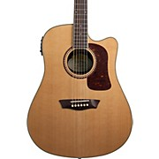 Heritage Series HD23SCE Dreadnought Acoustic-Electric Guitar Natural